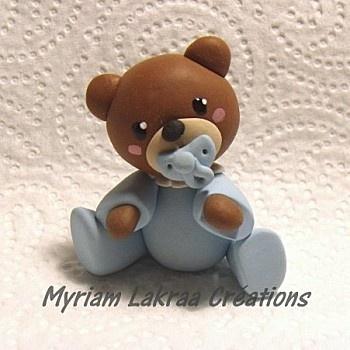 bébé ours bleu