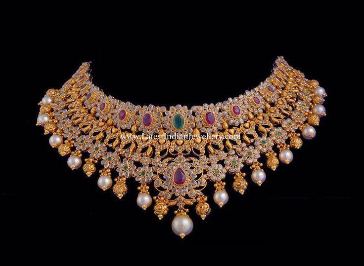 Vasundhara Uncut Diamond Choker
