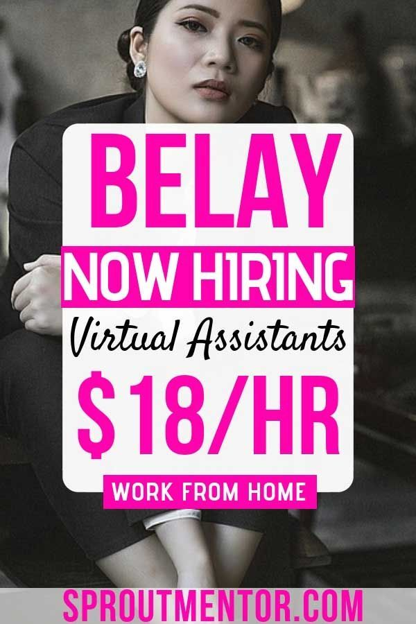 Belay Is Now Hiring Work From Home Virtual Assistants Virtual