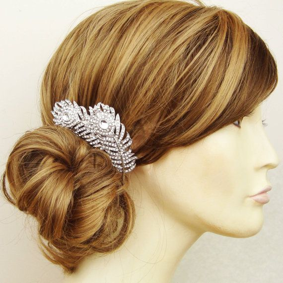 Vintage Style Wedding Bridal Hair Comb Wedding Hair