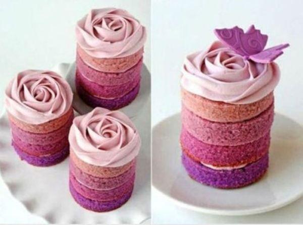 Beautiful bare cakes