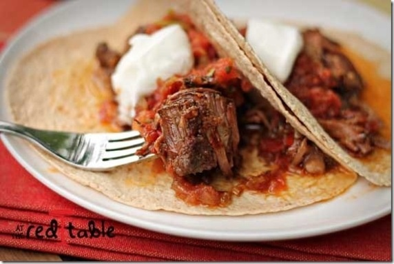 Mexican Braised Beef Tacos, a Slow-Cooker Delight