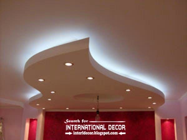 Led Ceiling Lights Led Strip Lighting In The Interior