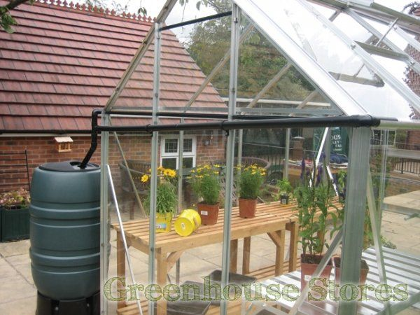 Elite Greenhouse Rainwater Kit to One Gutter 8ft wide Greenhouse http://www.greenhousestores.co.uk/Elite-Rainwater-Kit-to-One-Gutter-8ft-Wide-Greenhouse.htm