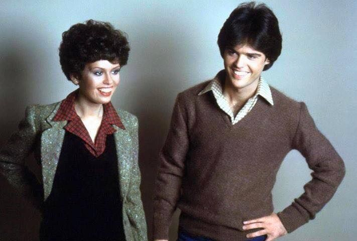 Donny & Marie Osmond's variety show. I watched it every week.