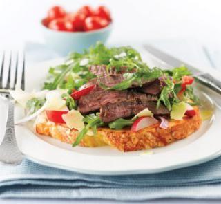 Beef carpaccio salad | Australian Healthy Food Guide