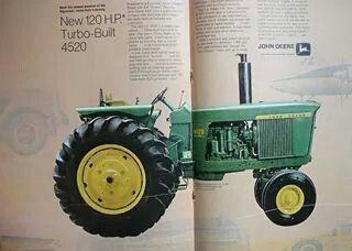 JOHN DEERE 4520 Ad