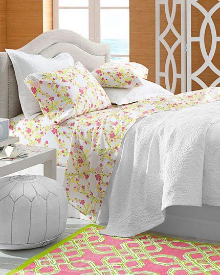 Lilly Pulitzer Cheery Blossom Bedroom   Garnet Hill