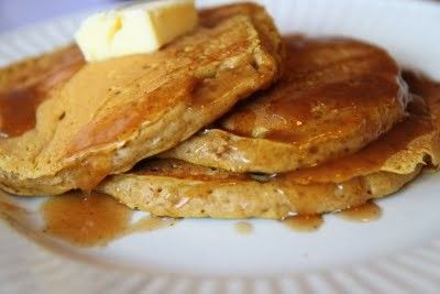 Pumpkin pancakes.. so ready for fall foods !!
