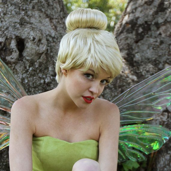 Tinkerbell Adult Costume Wig  A True by littlepennylane on Etsy, $250.00