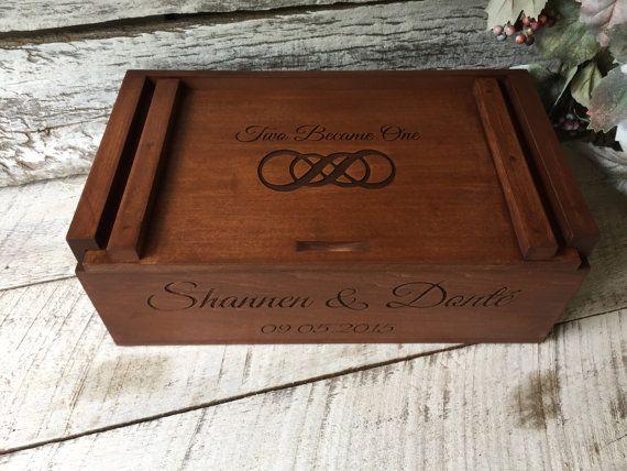 Wine letter box wedding ceremony