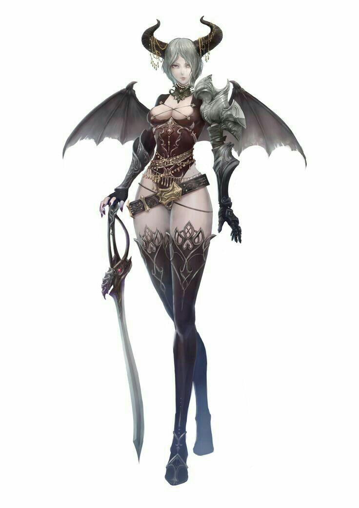 Character Design Artist Hire : Sucubus pathfinder pfrpg dnd d fantasy