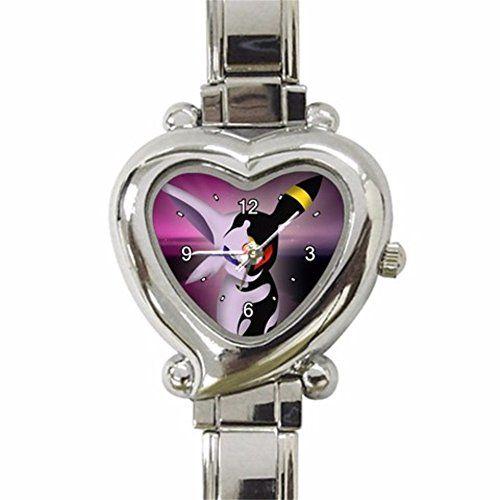 Espeon and Umbreon Pokemon Design Heart Round Italian Charm Watch Limited Edition – Pokemon Watch