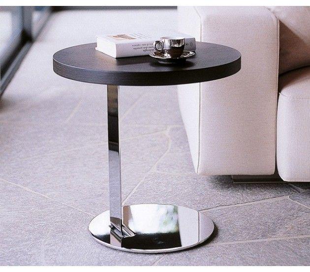 Приставной круглый журнальный столик Porada Single (Италия)