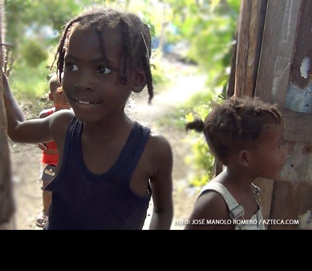 A pesar de que aún hay muchos pendientes en Haití, no dejan de sonreir.