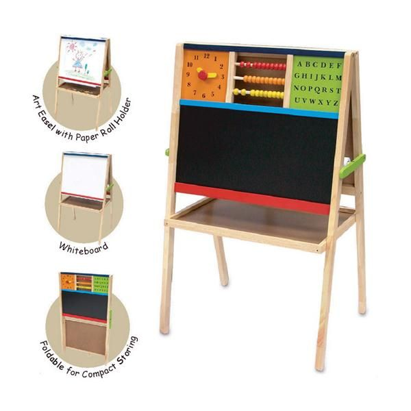 artiwood   activity easel   with paper at little green footprints