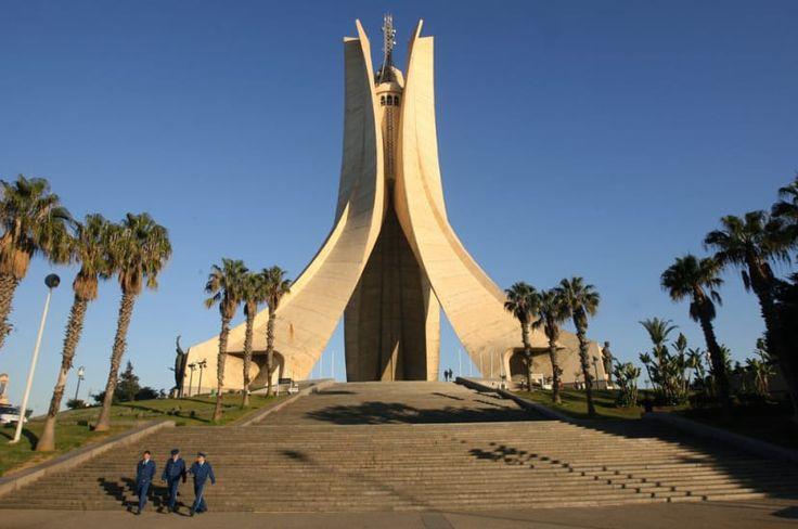 Mémorial du martyr, Alger.