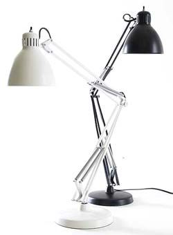 Luxo L-1 is the original architect lamp designed in 1937 by Jac Jacobsen.Wish I could find one of these for my nephew for xmas :(