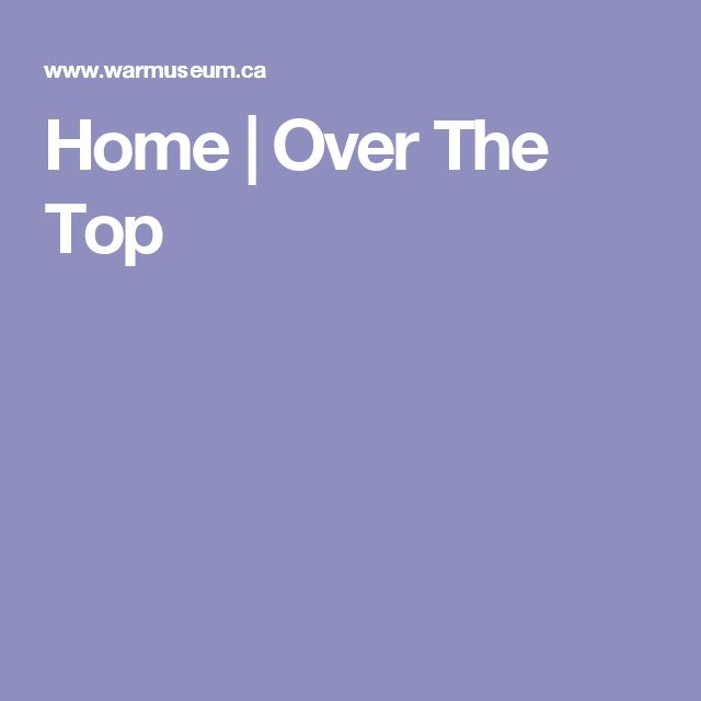 Home   Over The Top