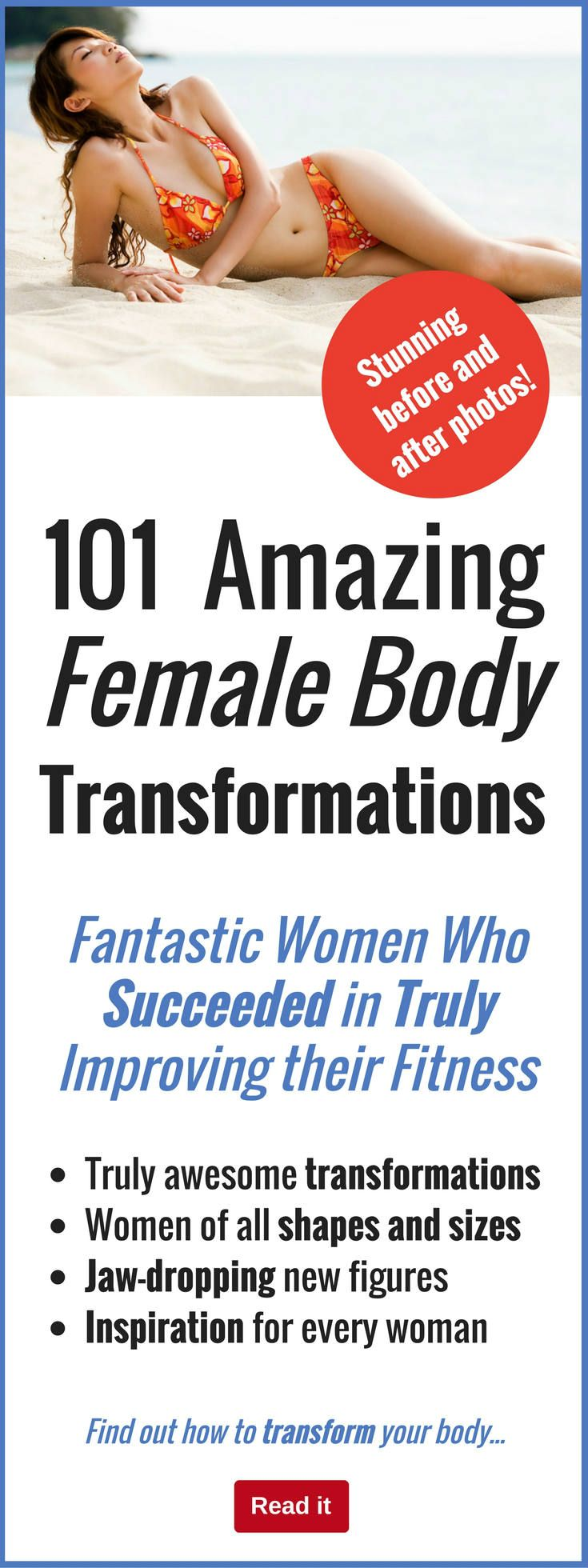 We all know the principles of losing weight and getting fit. You just find a good diet and exercise plan and stick to it, right? If only if it was that easy! You need willpower, motivation and resolve to make it all happen. Otherwise you just end up skipping your workout and ordering a takeout pizza with extra cheese instead. See how these amazing women overcame temptation to achieve amazing body transformations.