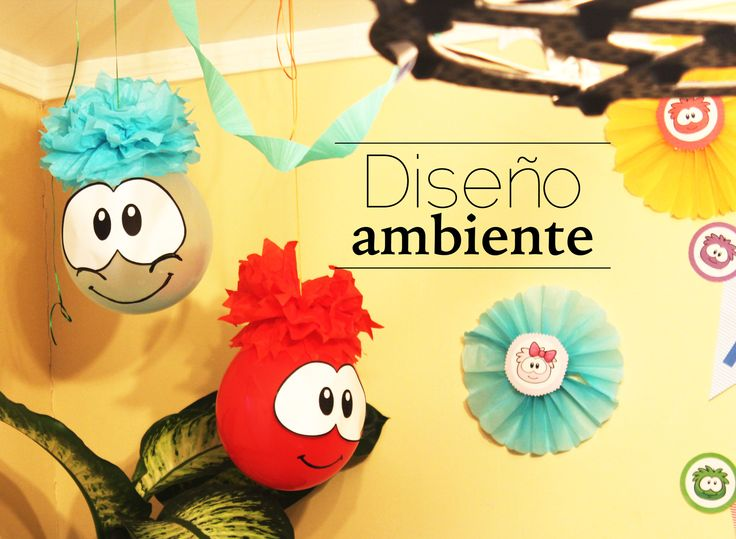 Party Birthday boy Club Penguin Ideas Puffle by Diseno Ambiente http://disenoambiente.cl/proyectos.html #puffle #Birthday #ClubPenguin #Boy