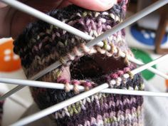 Easy peasy Anleitung für fingerlose Handschuhe   Havariemarie