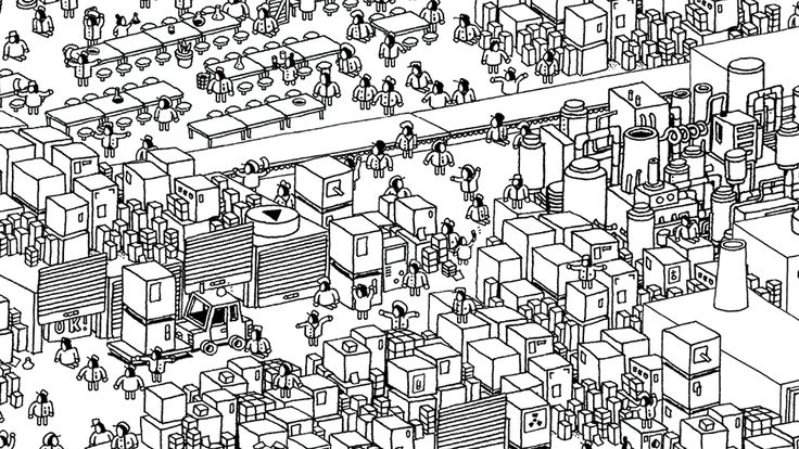 Hidden Folks Official Website - http://hiddenfolks.com/