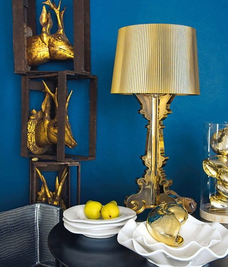 Modern Classics: Kartell's Bourgie Lamp via @Gilda Locicero Therapy