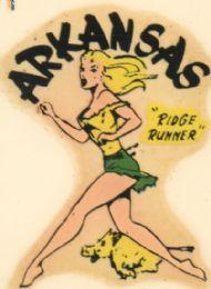 "Arkansas- Georgia Ridge is my home and I've been called a ""Ridge Runner"" lol"