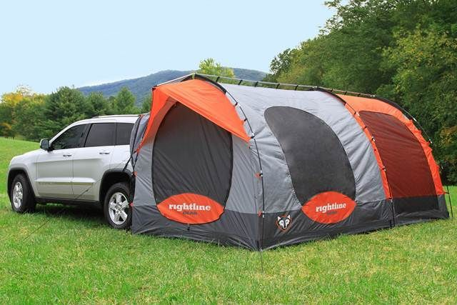 Kind of want this now...Rightline Gear SUV Tent with Screenroom. I need this for the Explorer!
