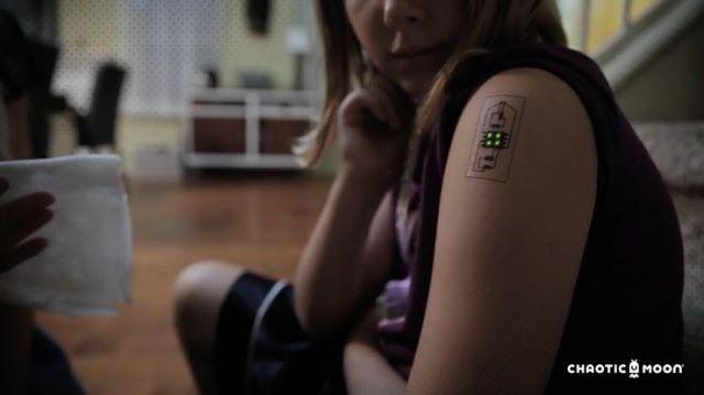 Tecnoneo: Tatuajes biométricos temporales, realizan un seguimiento del estado de salud de un usuario en tiempo real
