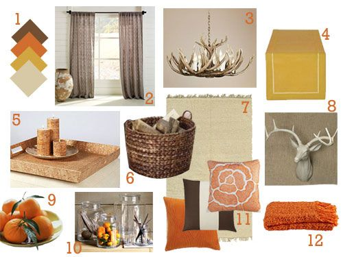 rustic orange living room 1000 ideas about orange living rooms on 13983