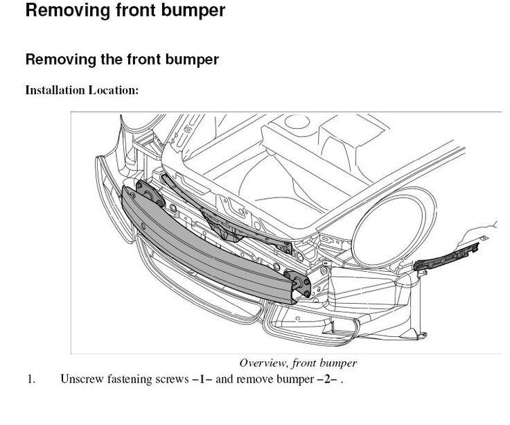 Removing 997 Front Bumper Cover Rennlist Porsche Discussion Forums Bumpers Porsche Cover