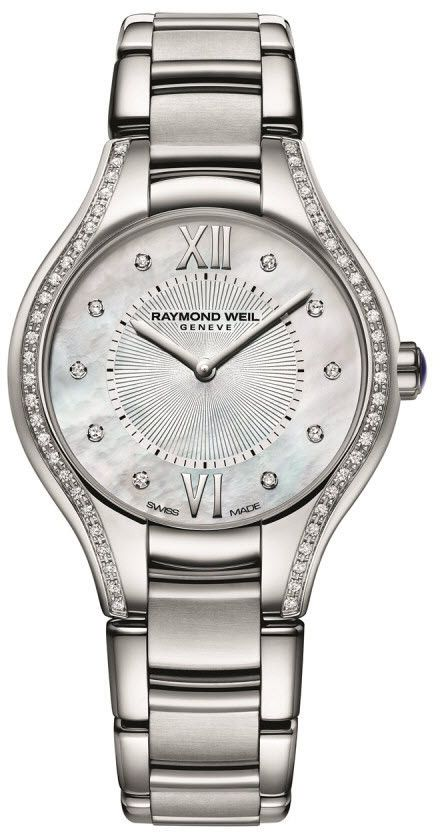 @raymondweil  Watch Noemia #add-content #bezel-diamond #bracelet-strap-steel #brand-raymond-weil #case-depth-7-15mm #case-material-steel #case-width-27mm #delivery-timescale-1-2-weeks #dial-colour-white #gender-ladies #luxury #movement-quartz-battery #official-stockist-for-raymond-weil-watches #packaging-raymond-weil-watch-packaging #style-dress #subcat-noemia #supplier-model-no-5127-sts-00985 #warranty-raymond-weil-official-2-year-guarantee #water-resistant-50m