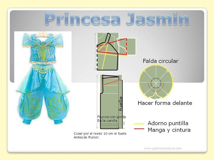 princesa Jasmin- patron