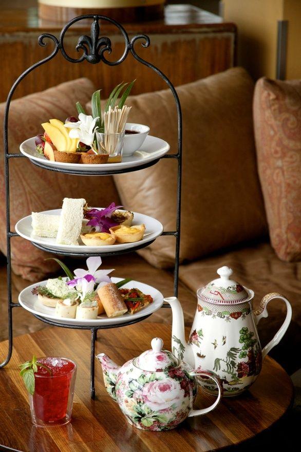 Tea delights.