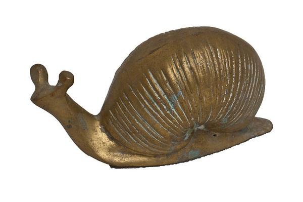 Loving brass animals- brass snail.Kind Finding, Brass Animal, Weird Decor, Decor Fav, Brass Menagerie, Brass Snails