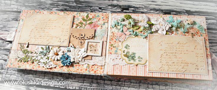 אולושקה - עיצוב אלבומים אומנותי בעבודת יד - אלבום מעוצב רומנטי