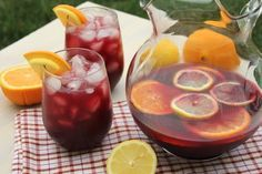 This Sangria recipe is easy to make, has a fantastic taste and is great to drink after a long day at work.