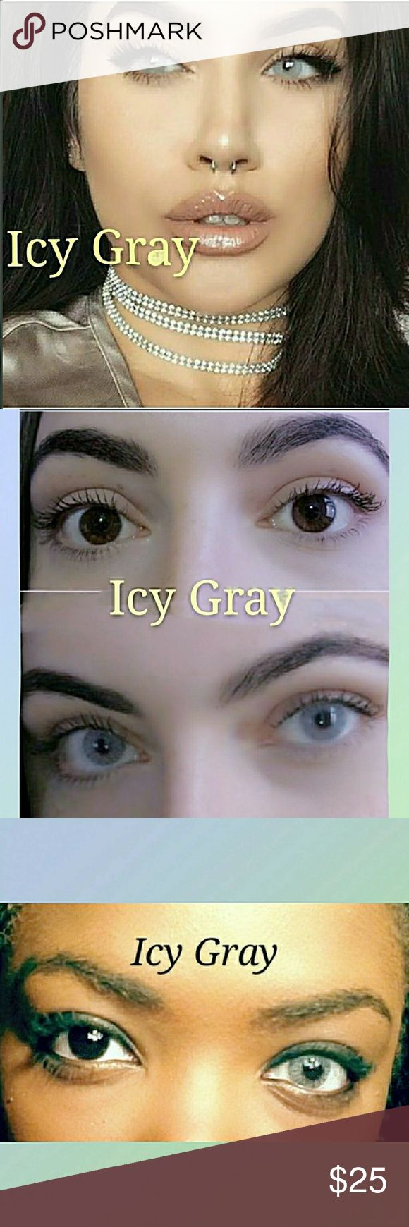 How to order colored contacts online -  Icy Gr Y Color Contact Lenses Get This Sophisticated Color For Autumn Model