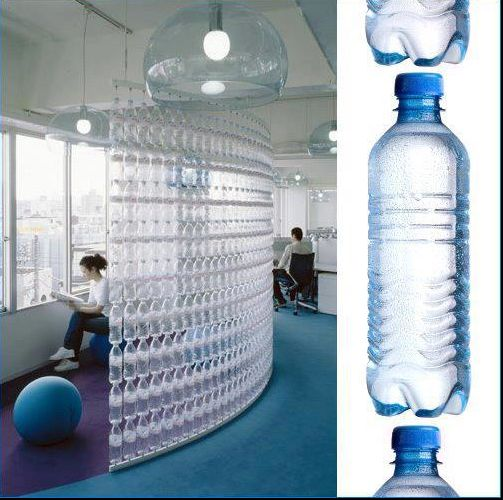 Lindas ideas plastico reciclaje con materiales for Water bottle recycling ideas