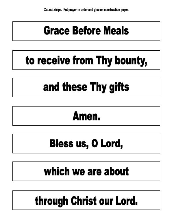 1000 Ideas About Catholic Prayer Before Meals On Pinterest