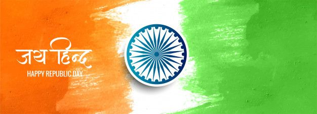 Picture frame, banner, status badge. Download Indian Tricolor Flag Banner For Free Republic Day Banner Flag Banner
