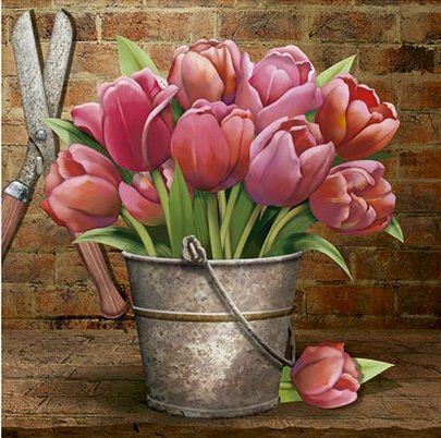 litoarte tulipanes