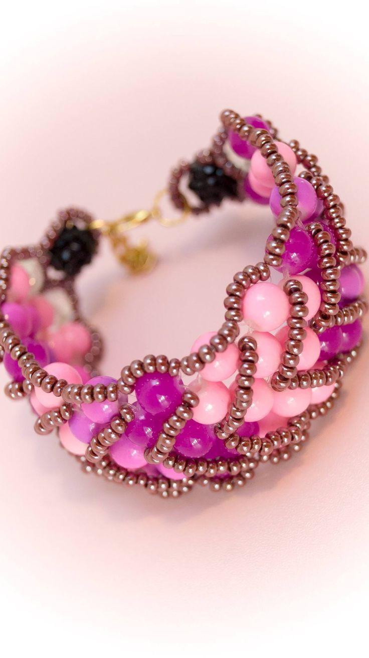 Excited to share the latest addition to my #etsy shop: Bracelet 2 http://etsy.me/2CSM3gu #jewelry #bracelet #pink #no #women #womanbracelet #handmadebracelet #fashionbracelet #uniquebracelet