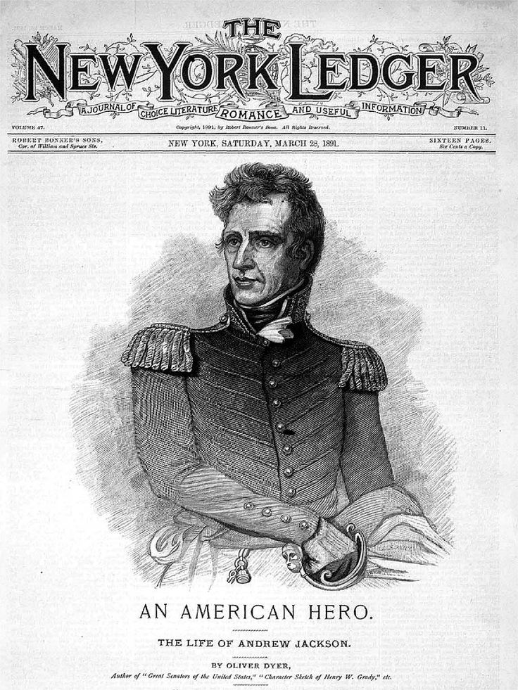 andrew jackson term papers Andrew jackson was born in 1767 and died in 1845 he was also the seventh president of the united states as encarta encyclopedia states, jackson fought his way to leadership and wealth in a frontier society, and his success established a bond between him and the common people that was never broken.