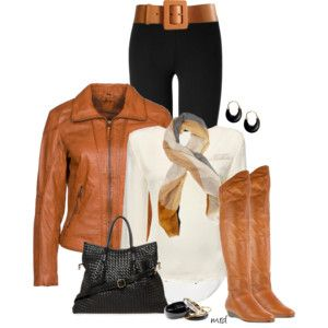 CHER - Cream, Black and Cognac leather. Love!