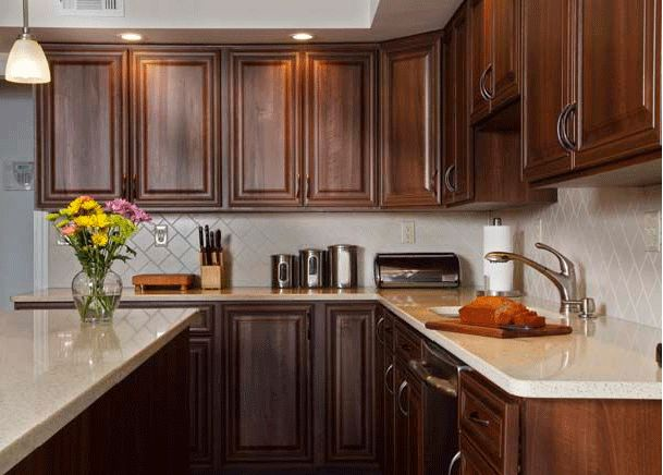 How To Pair Countertop Colors With Dark Cabinets Part 53