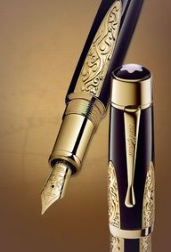 Fountain Pens.......I remember special instructions from our 6th grade teacher showing us how to use these.