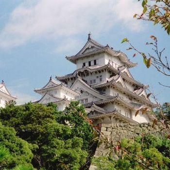 Au Japon, le château d'Himeji